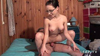 Кристи занимается порно со сводным братиком